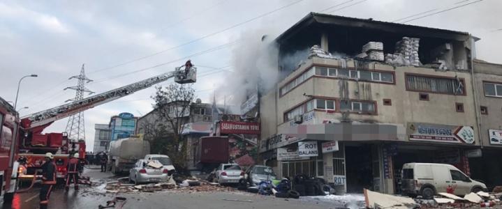 Sultanbeyli Sanayi Sitesi'nde Patlama