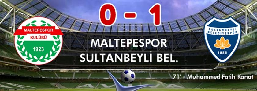 Maltepespor 0-1 Sultanbeyli Belediyespor