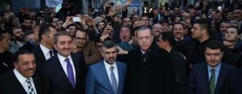Cumhurbaşkanı Erdoğan, Sultanbeyli Belediyesi'ni Ziyaret Etti