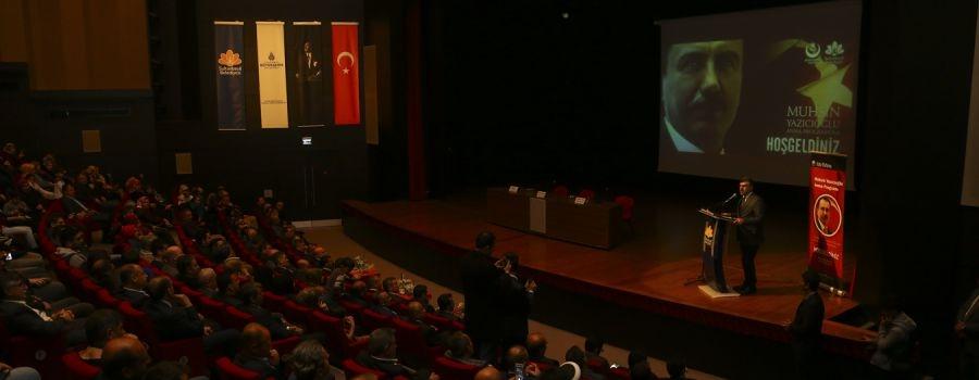 Muhsin Yazıcıoğlu Sultanbeyli'de Anıldı