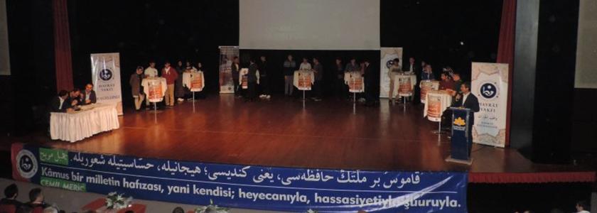 Gençler Osmanlıca Yarıştı