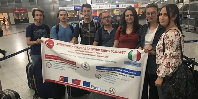 Temsilcilerimiz İtalya'dan Döndü