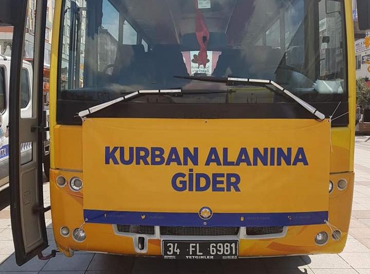 Sultanbeyli'de Kurbanlık Pazarı İçin Ücretsiz Servis Tahsis Edildi