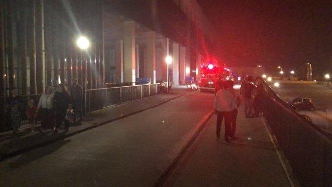 Sultanbeyli Devlet Hastanesi'nde Korkutan Yangın