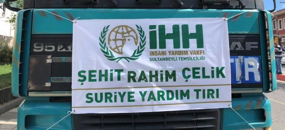 İHH Sultanbeyli'den İdlib'e 2 Tır Gıda Yardımı Yola Çıkıyor