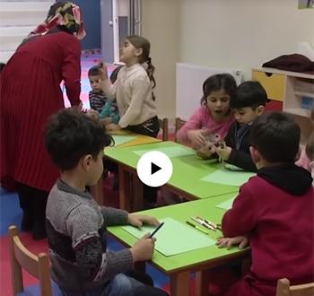 Suriyeli ve Türk Öğrencilere Ortak Eğitim Projesi