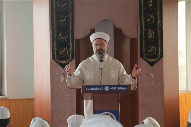 Diyanet İşleri Başkanından Sultanbeyli Merkez Kur'an Kursuna Ziyaret