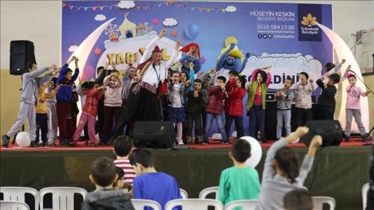 """Sultanbeyli'de Çocuklar İçin """"Yarı Yıl Şenliği"""""""