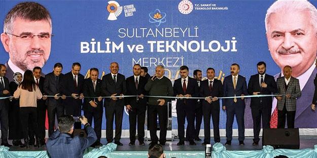 Sultanbeyli Bilim ve Teknoloji Merkezi Açıldı