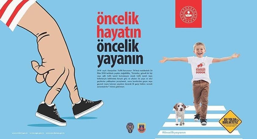 """Sultanbeyli'de """"Yaya Önceliği"""" Etkinliği"""