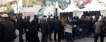 Sultanbeyli'de Tanzim Satışına Halktan Yoğun İlgi