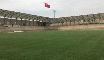 Sultanbeyli Gölet Stadyumu'nda Çalışmalar Devam Ediyor