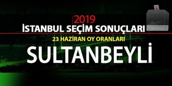 23 Haziran Seçimleri Sultanbeyli Sonuçları
