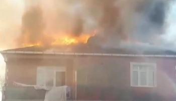 Sultanbeyli'de Korkutan Yangın
