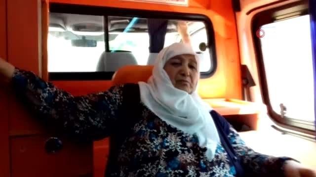 Sultan Teyze Hasta Yatağından Kalkarak Sandık Başına Gitti