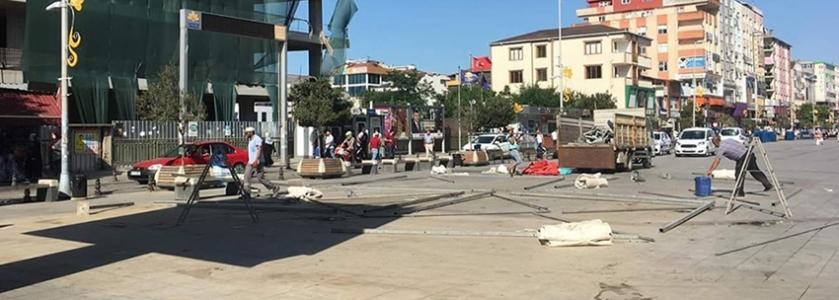 Seçim Bitti, Tanzim Satış Çadırları Kaldırıldı