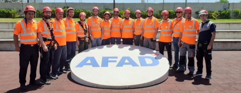 SAKUT, AFAD'ın Eğitimlerine Katıldı