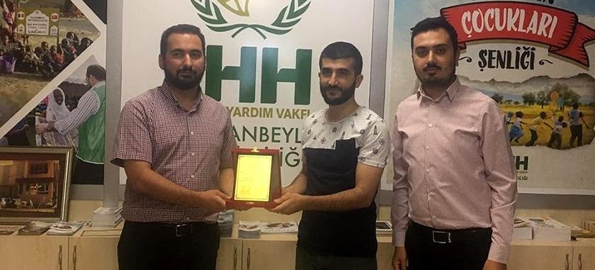 Sultanbeyli Genç İHH'da Bayrak Değişimi