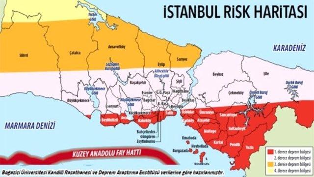 İstanbul Depreminde En Çok Etkilecek İlçeler Açıklandı