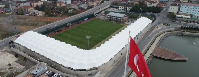 Sultanbeyli Gölet Stadyumu'nun Yeni Hali Büyük Beğeni Topladı