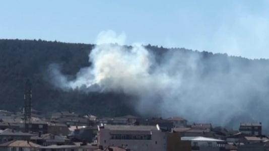 Sultanbeyli Aydos Ormanı'nda Yangın