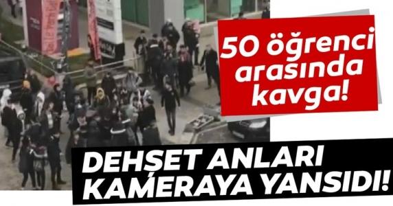 Sultanbeyli'de 50 Lise Öğrencisi Arasında Kavga Çıktı