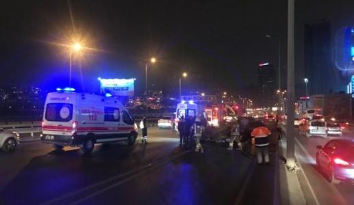 Sultanbeyli'de Trafik Kazası: 1 Ölü