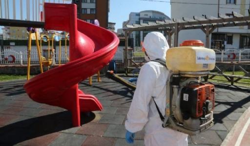 Sultanbeyli'de Dezenfekte Çalışmaları Hızla Devam Ediyor