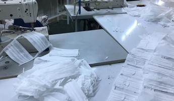 Sultanbeyli'de 1 Milyon Sahte Maske Ele Geçirildi