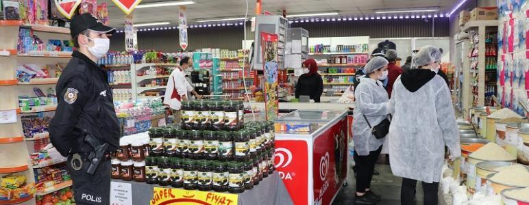 Sultanbeyli'de Fırın ve Market Denetimleri Devam Ediyor