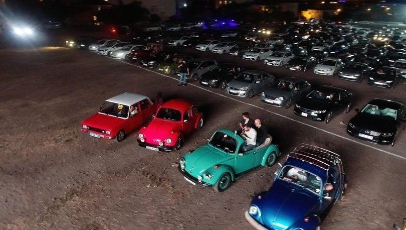 Sultanbeyli'de Açık Havada 'Arabalı Sinema Gecesi'